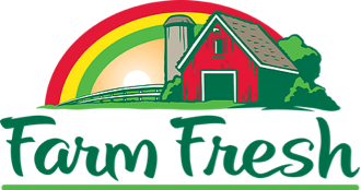 A theme logo of Farm Fresh